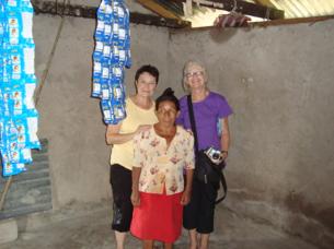 Raimunda, Karen and I.